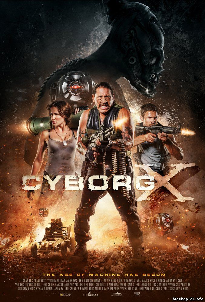 Watch Streaming Movie Cyborg X (2016)